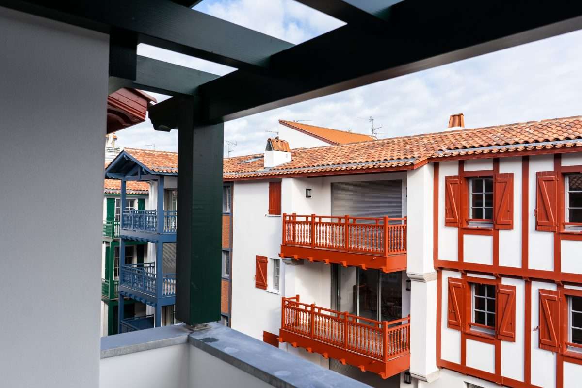 balcon appartement cote basque