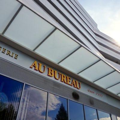 Inauguration de l'Esplanade Montaury à Anglet à la brasserie Au Bureau