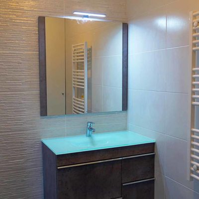 immobilier neuf, salle de bain de tour de biret