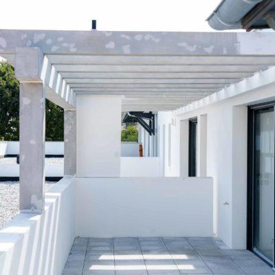 immobilier neuf à anglet, terrasse de villa artéa