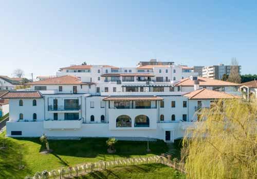 villa artea anglet resience neuve parc privatif