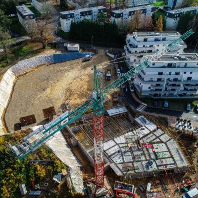 construction parc saint etienne