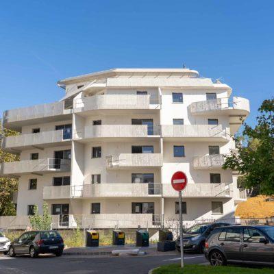 immobilier neuf à bayonne, résidence egurrean façade