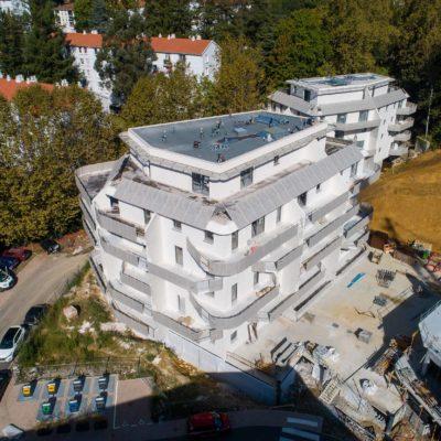 immobilier neuf à bayonne, résidence egurrean vue aérienne