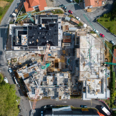 construction jardins des 5 cantons anglet