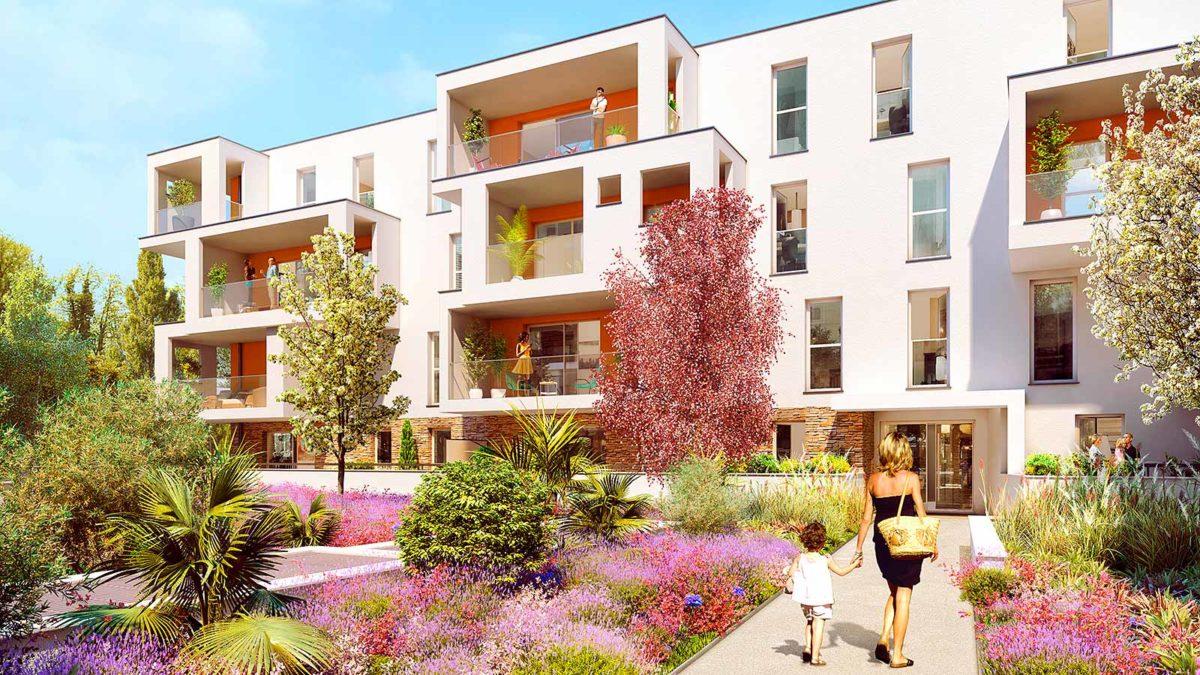 immobilier neuf à anglet, jardin des cinq cantons