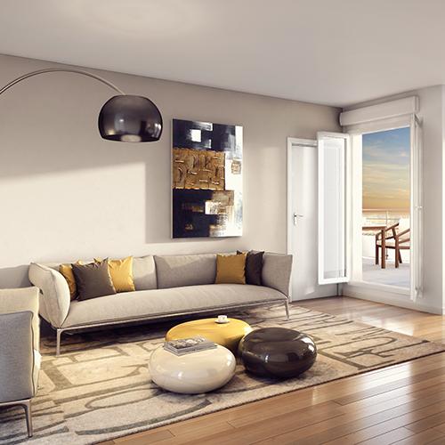 séjour drancy confort d'un logement neuf