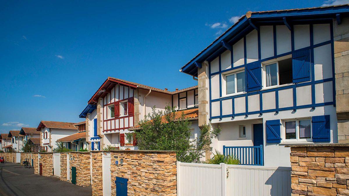 hameau aguilera biarritz lotissement pays basque maison neuve