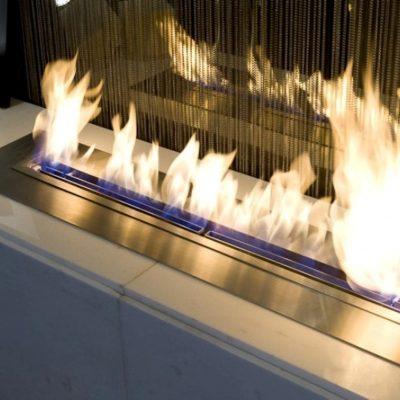 chauffage flame