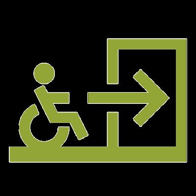 normes d'accessibilité aux personnes handicapées