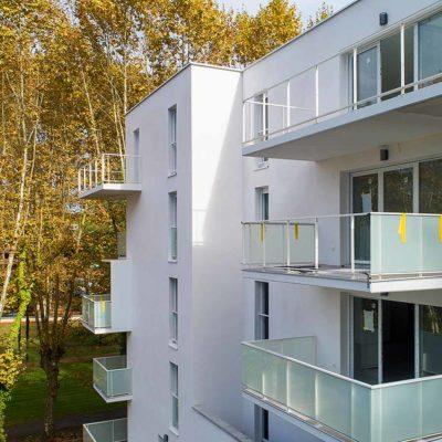 immobilier neuf à dax, clos saint vincent balcons