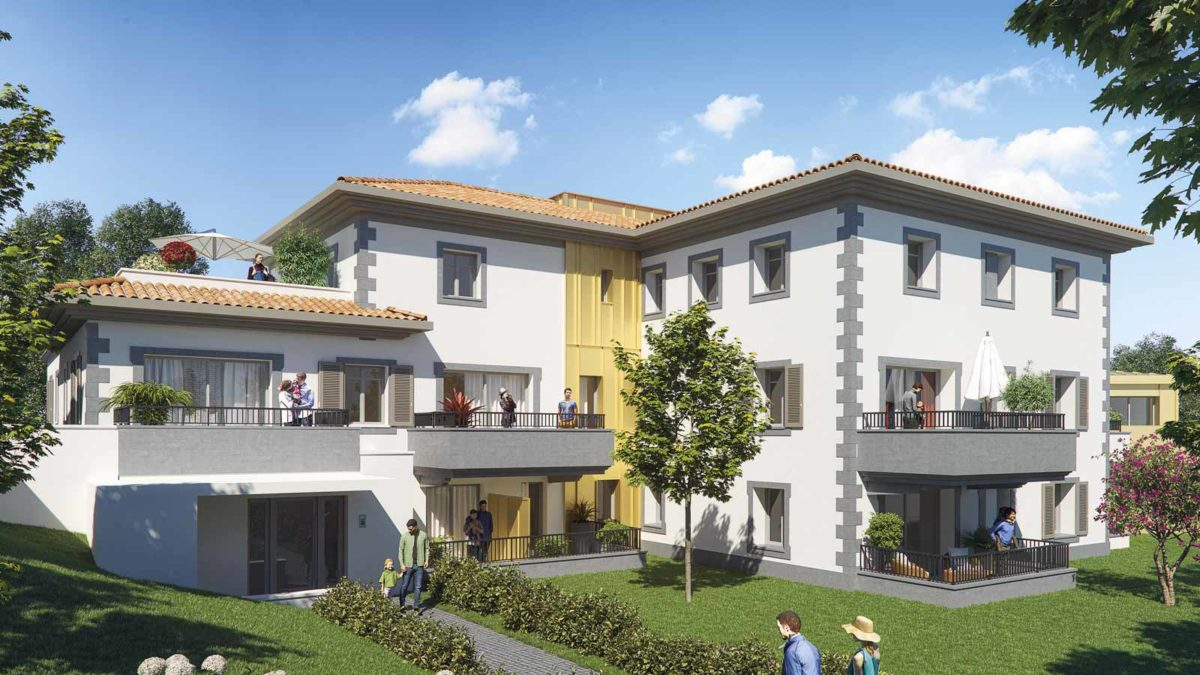 résidence les hauts de la chambre d'amour plage à pied appartement luxueux et villas de prestige