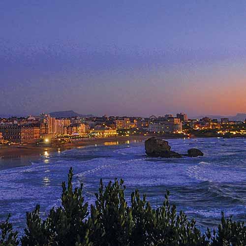 biarritz été plage ocean montagne immobilier neuf