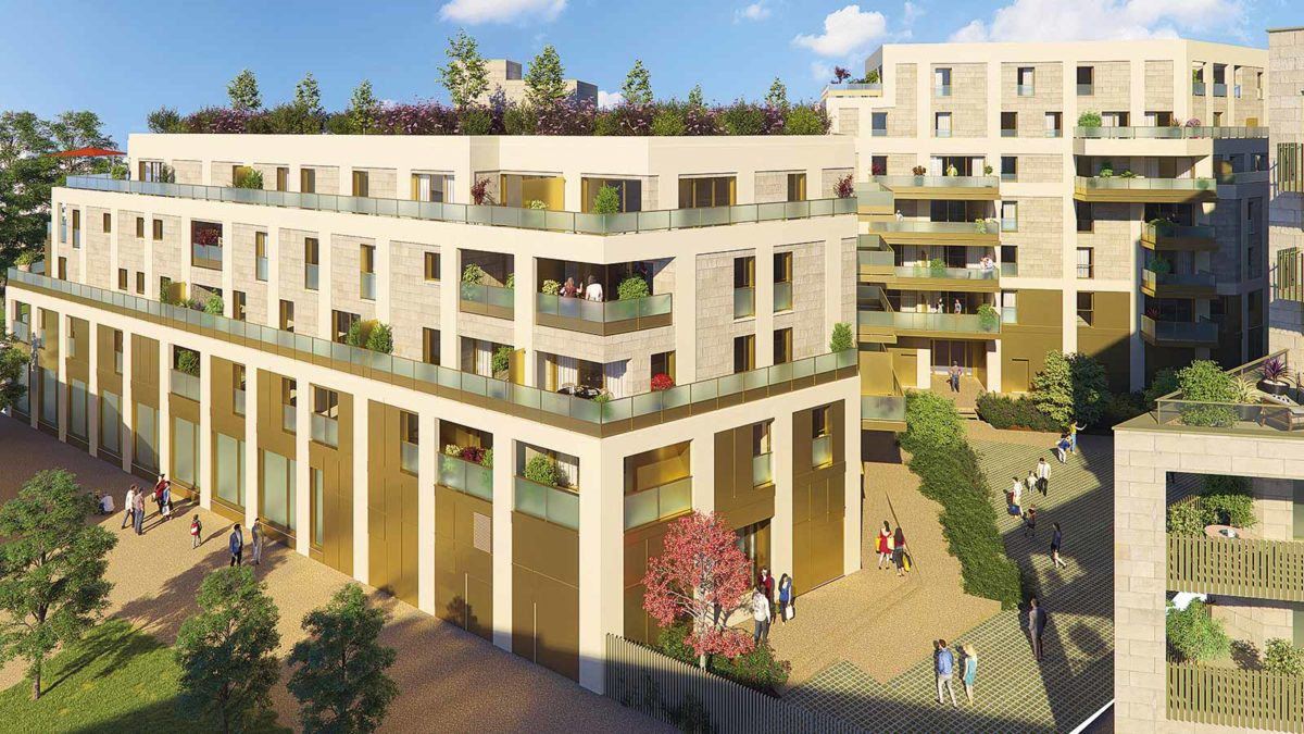 coeur de garonne nouvelle résidence neuve bordeaux quartier Euratlantique