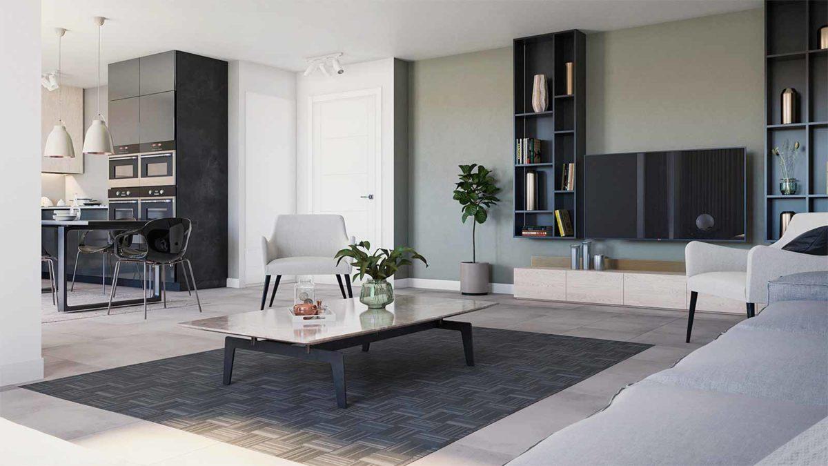 coeur de garonne interieure prestation haut de gamme appartement neuf résidence neuve parking sous-sol