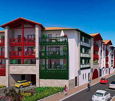 Résidence Santiago appartement neuf saint-jean-de-luz résidence secondaire