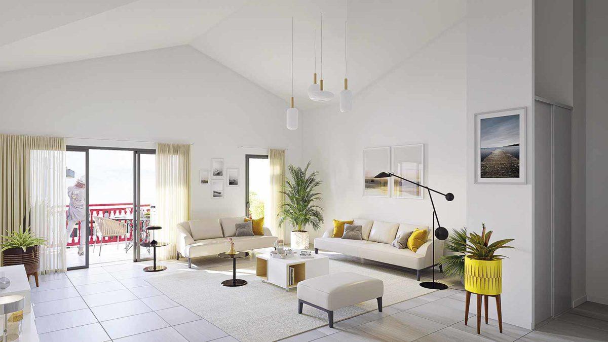 Résidence neuve saint-jean-de-luz loyer pinel investissement locatif