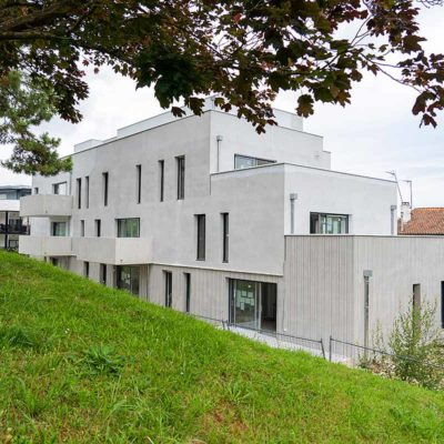 résidence neuve anglet boulevard du BAB terrasse parking
