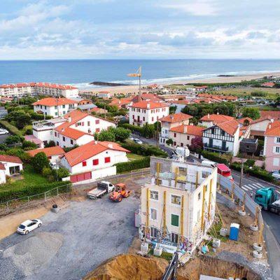 chmabre amour vue océan mer parking logement neuf immobilier pays basque