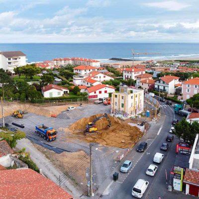 proche océan plage à pied commerce en face appartement neuf anglet pays basque