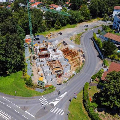 résidence neuve bayonne parking balcon terrasse immobilier pays basque