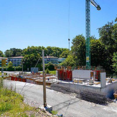 en cours de construction appartement neuf BAyonne proche centre ville anglet et Bayonne