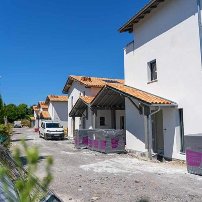 maison individuelle villas Oihana à Anglet livraison proche immobilier neuf pays basque jardin
