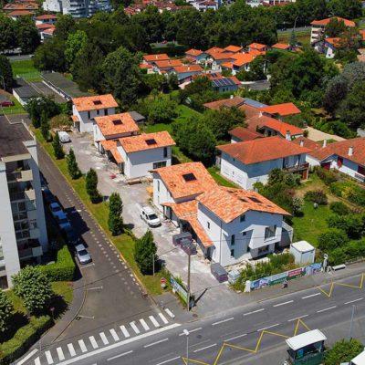 maison individuelle neuve villas Oihana à Anglet plage et commerce à proximité