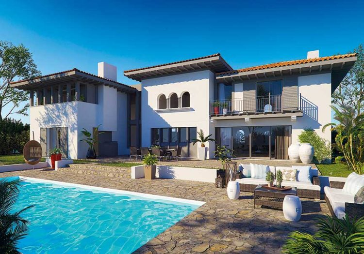 villas du golf immobilier neuf à anglet